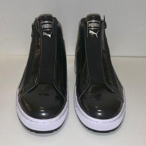 NWOT Puma Patent High Top Sneaker